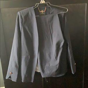 Blue Ted Baker Pant Suit Set